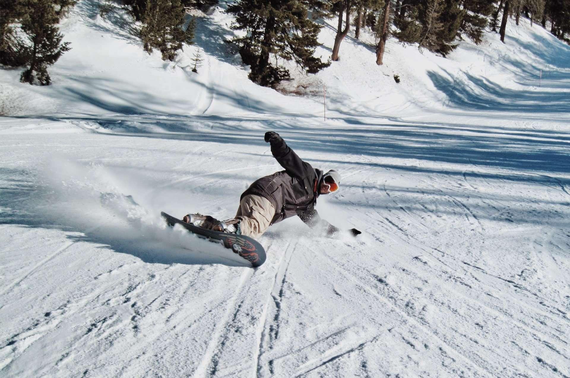 terminillo inverno snowboard